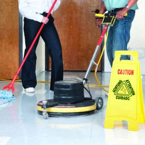Commercial Floor Stripping, Sealing and Waxing