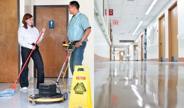 Commercial Floor Stripping Sealing And Waxing